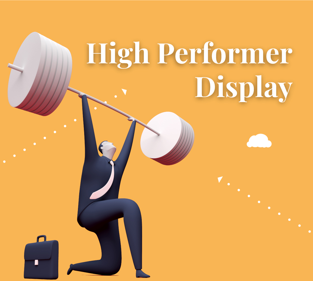 High Performer Display Learning